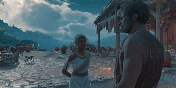 La doctora Qamra en Assassin's Creed Odyssey - Misión secundaria