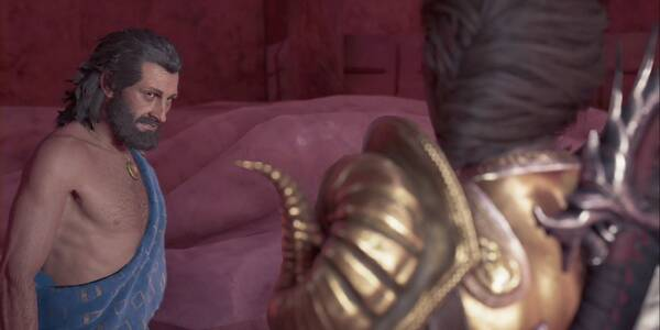 La vida, como el arte en Assassin's Creed Odyssey - Misión secundaria
