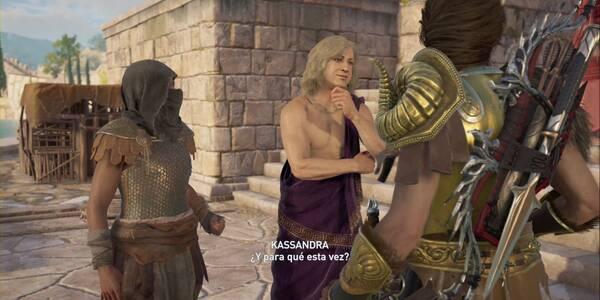 Cruzar la frontera en Assassin's Creed Odyssey - Misión secundaria
