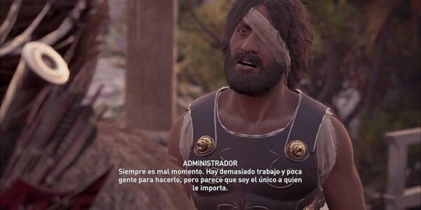 Unidad de reclutamiento en Assassin's Creed Odyssey - Misión secundaria