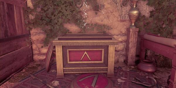 Un cofre lleno de dracmas en Assassin's Creed Odyssey - Misión secundaria