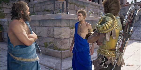 Libertad de expresión en Assassin's Creed Odyssey - Misión secundaria