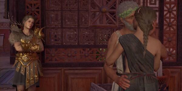 Ni una palabra en Assassin's Creed Odyssey - Misión principal