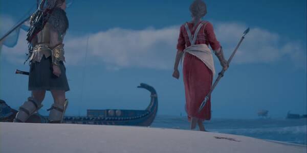 Ponerse al día en Assassin's Creed Odyssey - Misión principal