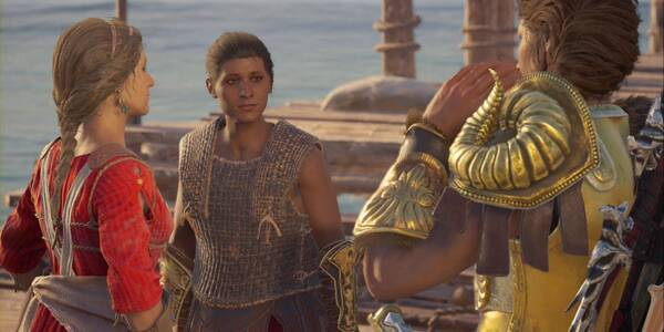 Frente unido en Assassin's Creed Odyssey - Misión principal