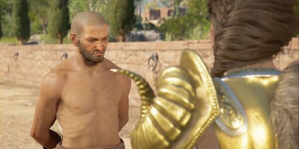 Acompaña al campeón en Assassin's Creed Odyssey - Misión principal