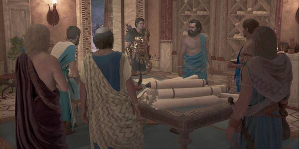 La resistencia en Assassin's Creed Odyssey - Misión principal