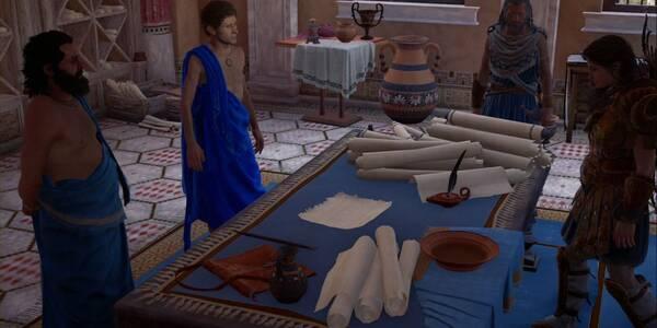 Los caballeros en Assassin's Creed Odyssey - Misión principal