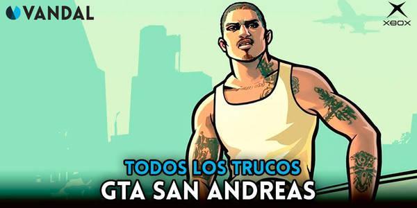 Trucos de Grand Theft Auto: San Andreas para Xbox