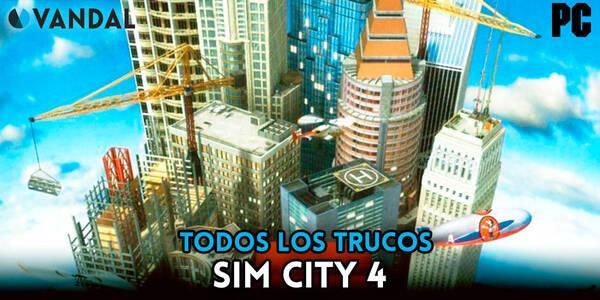 Trucos de Sim City 4 para PC