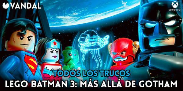 Trucos de LEGO Batman 3: Más Allá de Gotham para Xbox 360