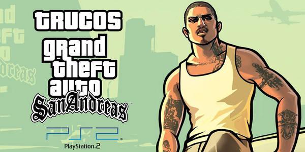 Trucos de Grand Theft Auto: San Andreas para PS2