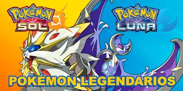 Pokémon legendarios en Sol y Luna y cómo capturarlos