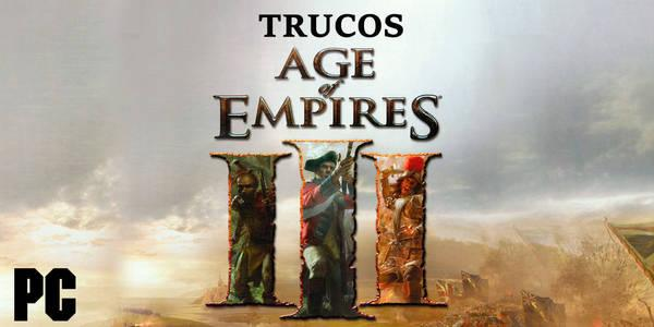 Trucos de Age of Empires 3 para PC