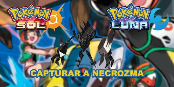 Necrozma, cómo y dónde capturarlo en Pokémon Sol y Luna