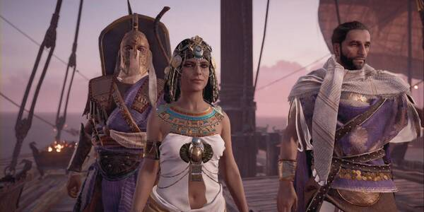 Aya, espada de la diosa - Historia de Assassin's Creed Origins