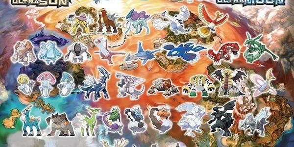 TODOS los Pokemon Legendarios en Ultrasol / Ultraluna y cómo capturarlos