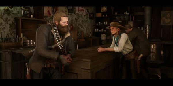 Ícaro y sus amigos en Red Dead Redemption 2 - Misión principal