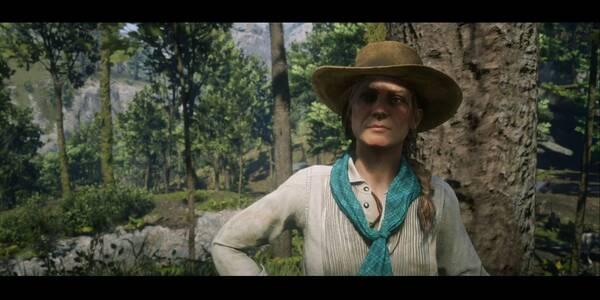 Sadie Adler, viuda - Partes I y II en Red Dead Redemption 2 - Misión principal