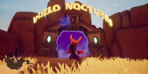 Vuelo nocturno en Spyro 1 - Cómo completar la contrarreloj al 100%