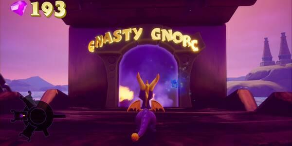 Gnasty Gnorc en Spyro 1 - Cómo derrotar al jefe