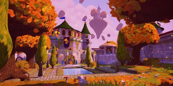 Llanuras otoñales en Spyro 2 - Todos los orbes
