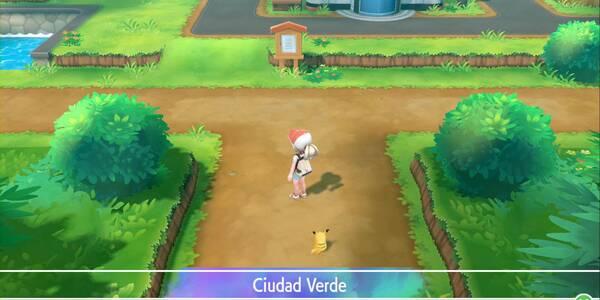 Ciudad Verde en Pokémon Let's Go - Paso a paso y secretos
