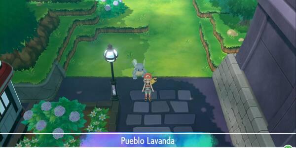 Pueblo Lavanda en Pokémon Let's Go - Paso a paso y secretos