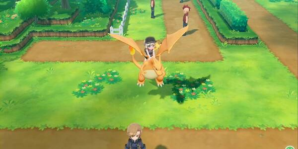 Ruta 14 en Pokémon Let's Go - Pokémon y secretos