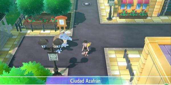 Ciudad Azafrán en Pokémon Let's Go - Paso a paso y secretos