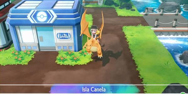 Isla Canela en Pokémon Let's Go - Paso a paso y secretos