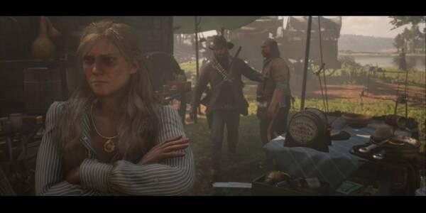 Más cuestiones del sufragio femenino en Red Dead Redemption 2 - Misión principal