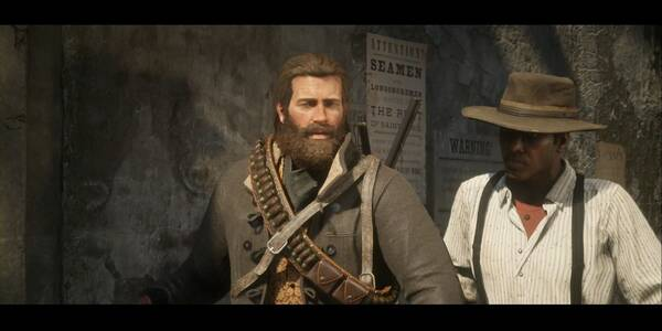 Placeres urbanos en Red Dead Redemption 2 - Misión principal