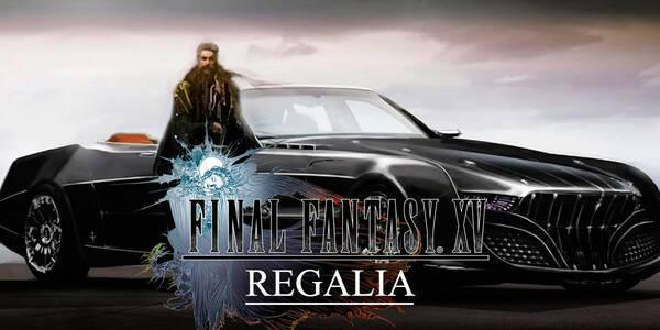 Regalia, el coche de Final Fantasy XV y sus opciones de personalización