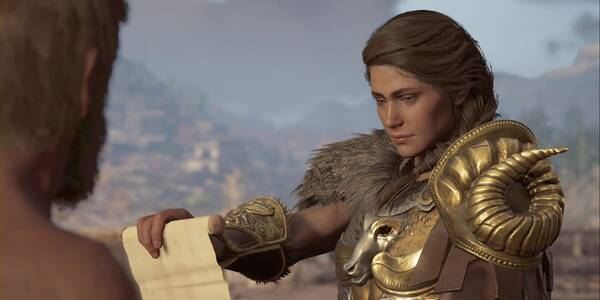 El muerto se levanta en Assassin's Creed Odyssey