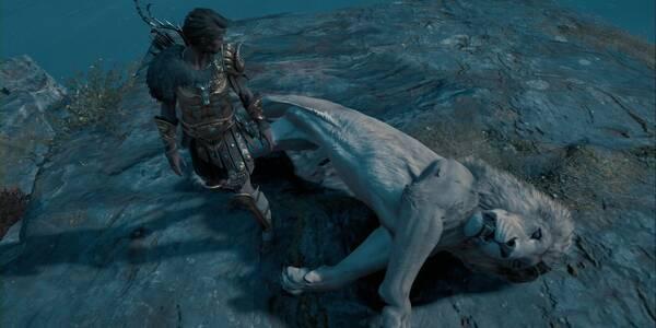 El león de Macedonia en Assassin's Creed Odyssey