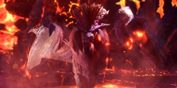 Teostra en Monster Hunter World - Localización, drops y consejos