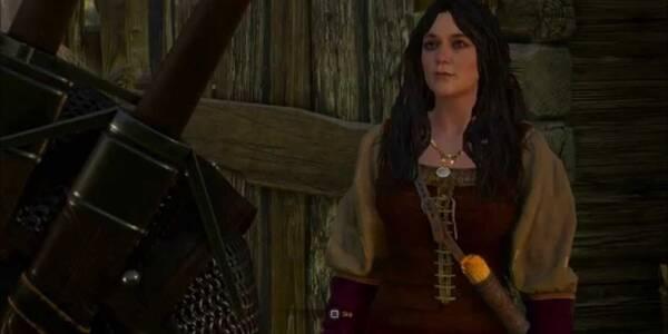 En el lecho de muerte - The Witcher 3: Wild Hunt