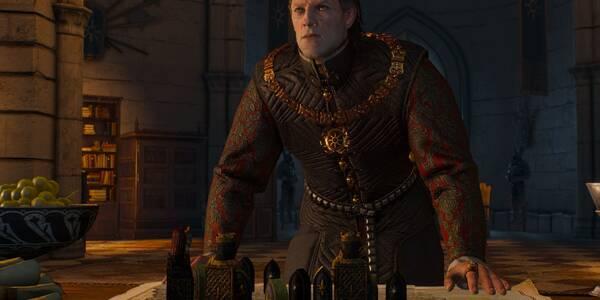 Una audiencia con el Emperador - The Witcher 3: Wild Hunt