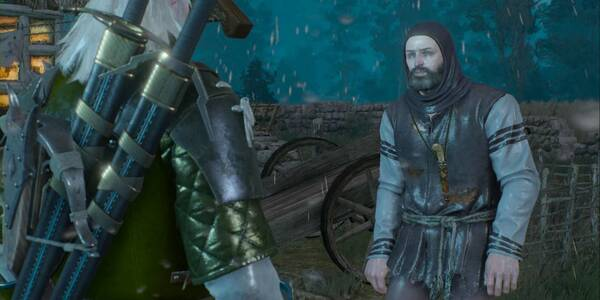 Una yegua asustada - The Witcher 3: Wild Hunt