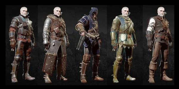 Sets armas y armaduras (mejor equipo) - The Witcher 3: Wild Hunt