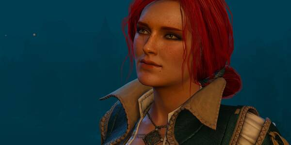 Cómo tener romance y sexo con  Triss - The Witcher 3: Wild Hunt