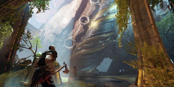 Ataques rúnicos y mágicos en God of War PS4 (2018)