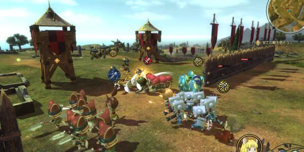 Batallas campales en Ni No Kuni 2: El renacer de un reino