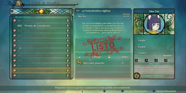 Recado Especial 011 - La francotiradora sigilosa en Ni No Kuni 2: El renacer de un reino