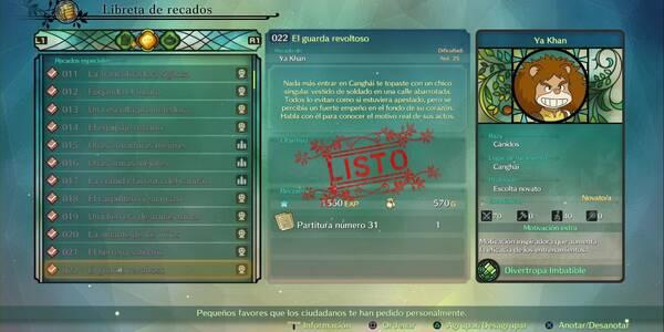 Recado Especial 022 - El guardia revoltoso