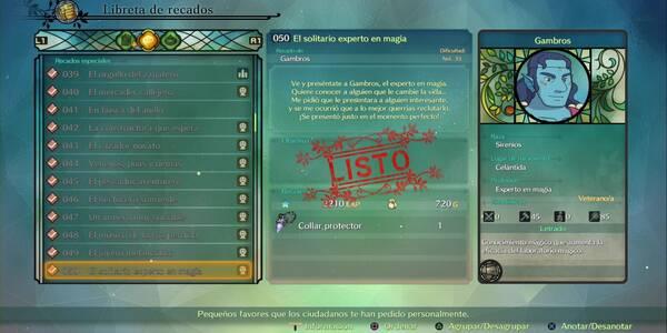 Recado Especial 050 - El solitario experto en magia en Ni No Kuni II: El renacer de un reino