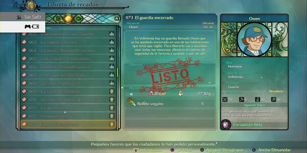 Recado Especial 073 - El guardia encerrado en Ni No Kuni 2: El renacer del reino