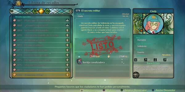 Recado Especial 078 - El secreto militar en Ni No Kuni 2: El renacer de un reino