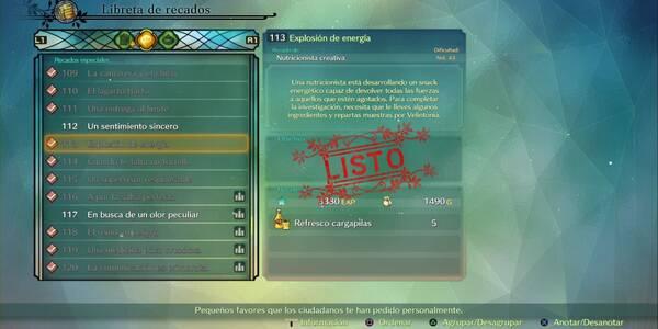 Recado Especial 113 - Explosión de energía en Ni No Kuni 2: El renacer de un reino